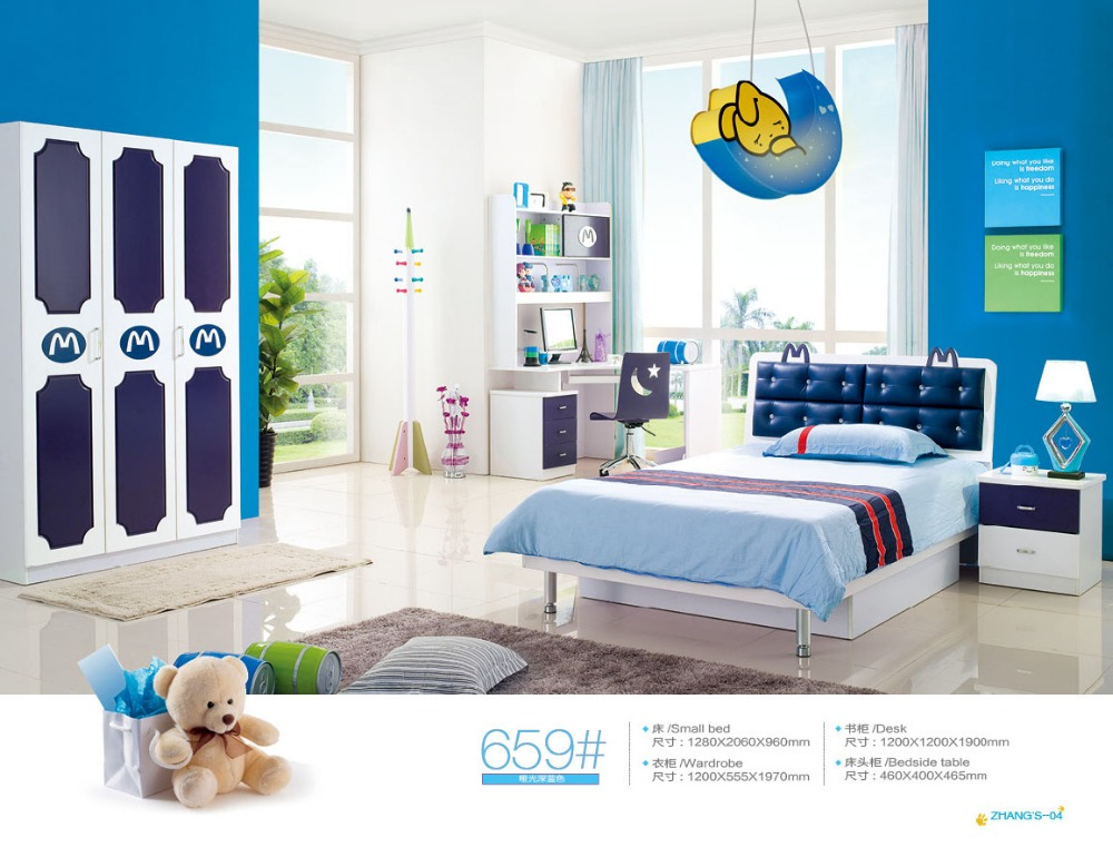 US $580.0 |Childrens Bunk Beds Beds Enfants Meuble Top Fashion Wood  Kindergarten Furniture Childrens Bunk With Stairs Hot Sale Bedroom Set-in  Children ...