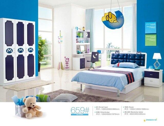 Us 5800 Dzieci łóżka Piętrowe łóżka Enfants Meuble Top Moda Drewna Przedszkole Meble Dla Dzieci Piętrowe Z Schody Gorąca Sprzedaż Zestaw