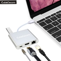 USB C USB 3 1 Type C To HDMI Digital AV USB OTG Gigabit Ethnernet RJ45