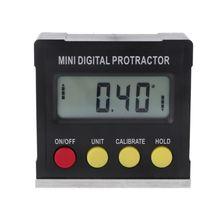 360 Degree Digital Protractor Inclinometer Electronic Level Box Magnetic Base Measuring Tools цена 2017