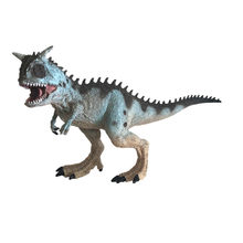Dinosaur Model Toys Multicolor Educational Toys for Children White Carnotaurus Model Cartoon Toy Best For Kids Children F415(China)