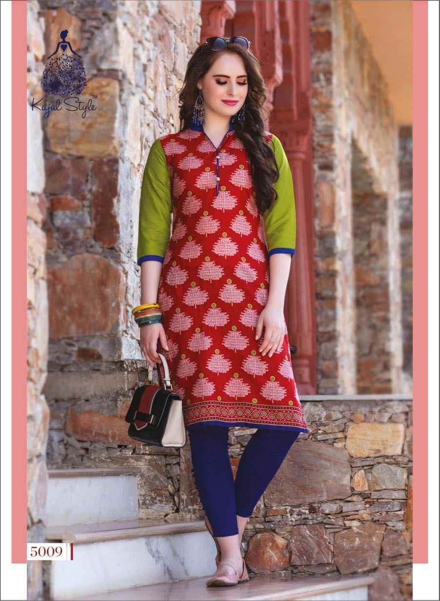 ab027782c3 ... Indian Traditional Kurti 3 Quarter Sleeve Cotton Kurta Bollywood  Designer Stylish Tunic Printed Top Women Dress ...