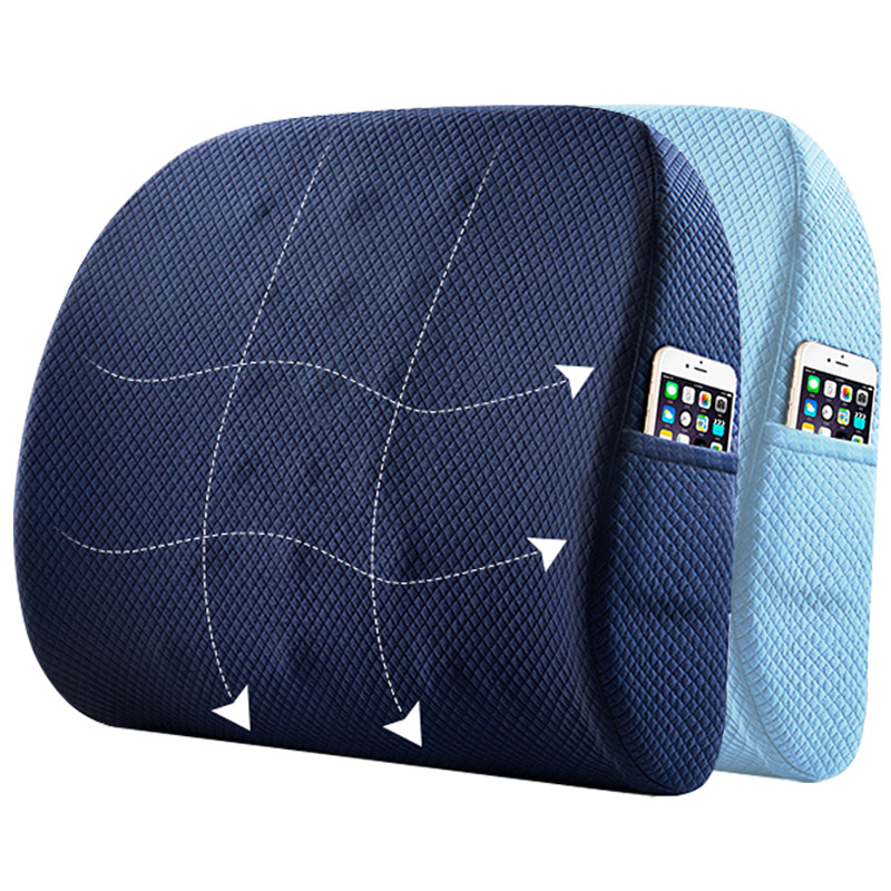 Us 27 84 Memory Foam Seat Chair Cushion Lumbar Support For Office Chair Coccyx Orthopedic Pillow Waist Massage Cushion Car Back Set Pad In Cushion