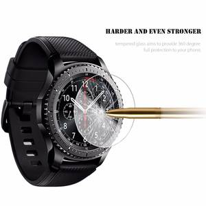 Gear S3 watch Glass screen protection For Samsung Classic / frontier Glass screen protection LTE 2.5D Round Edge Anti-scratch