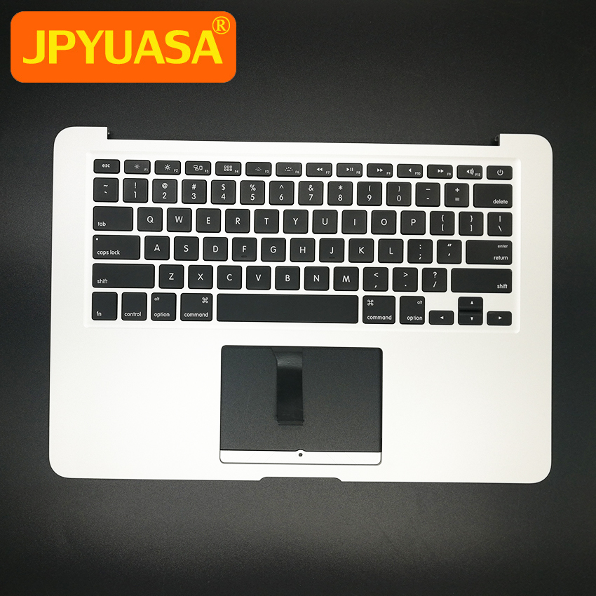 New TopCase with US Keyboard for MacBook Air 13.3 A1466 Top case 2013-2015 years new dk denmark top case topcase palmrest with keyboard backlight for macbook air 13 3 a1466 2013 2014 2015 years