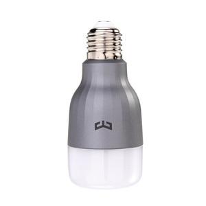 Image 3 - Yeelight מותג LED חכם הנורה WIFI שלט רחוק RGB led אורות לבית להתאים בהירות נוריות הנורה מנורת מהיר חינם
