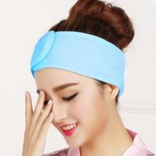 Female Korean Yoga Running Exercise Antiperspirant Hair Band Beauty Makeup Washing Headband Girl Light Sleeping