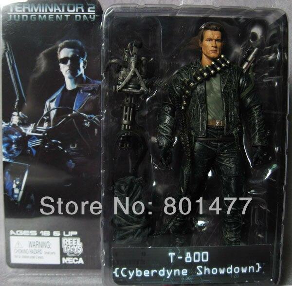 "NECA Terminator 2 Judgement Day T-800 Steel Mill 7/"" Action Figure"