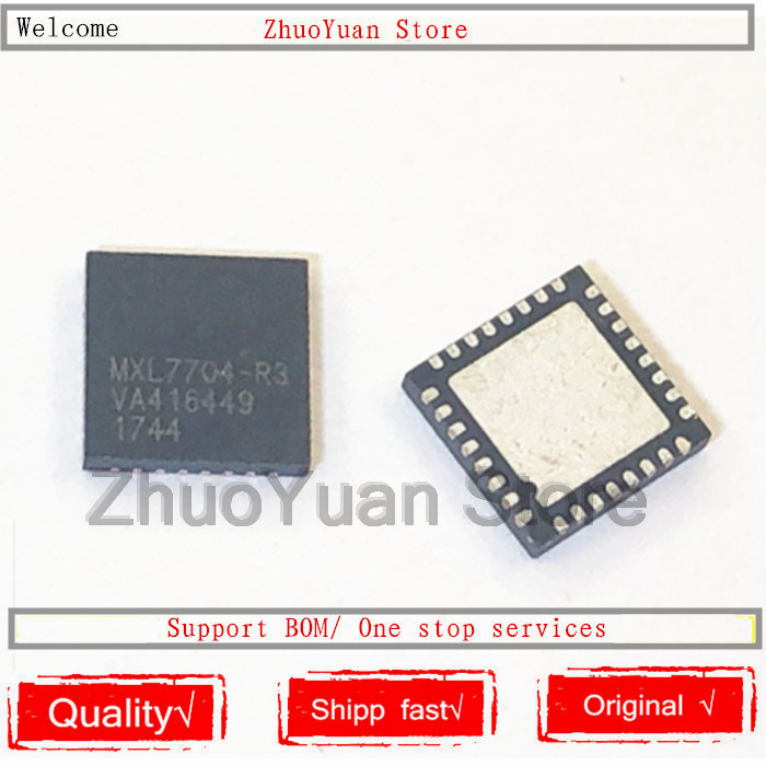 10PCS/lot 100% New Original MXL7704 MXL7704-R3 MXL7704-AQB-T QFN32 IC Chip 100% New Original