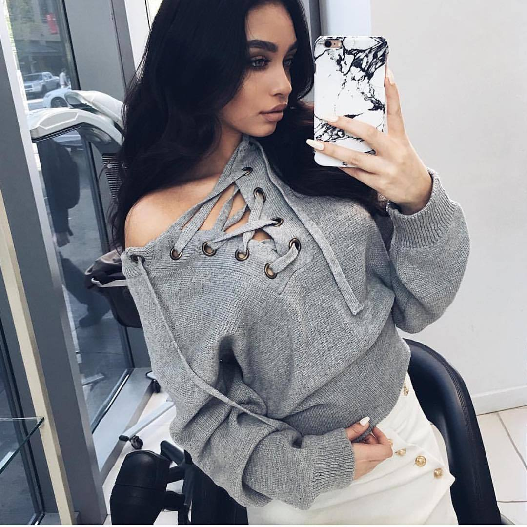 5bcbbbcc83 Buy sweater lace hem and get free shipping on AliExpress.com