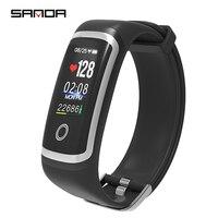 SANDA Sport Bluetooth Smart Watch Men Fitness Tracker Smartwatch Relogio Feminino Heart Rate Monitor Blood Pressure Watches