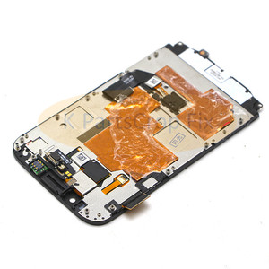 Image 5 - 3.5 For Blackberry Classic Q20 LCD Display Touch Screen Digitizer Assembly For Blackberry Q20 LCD with Frame with keyboard