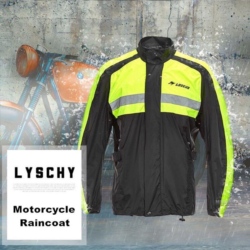 2017 Новый мужчины мотоцикл куртка езда плащ дождь костюм & брюки женщины походы восхождение самокат велосипед плащ одежда