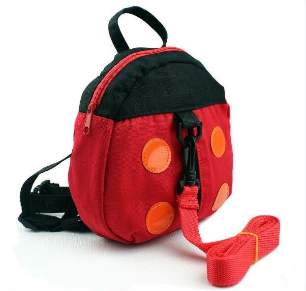 50 шт в наборе, приятель «божья коровка» и «летучая мышь» для маленьких накладной рюкзак с анти-потерянный ремень/Малыш Жгут - Цвет: ladybug