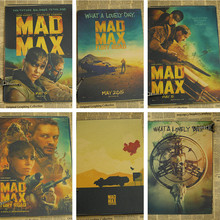 American movie Crazy Max nostalgic posters family bar decorations