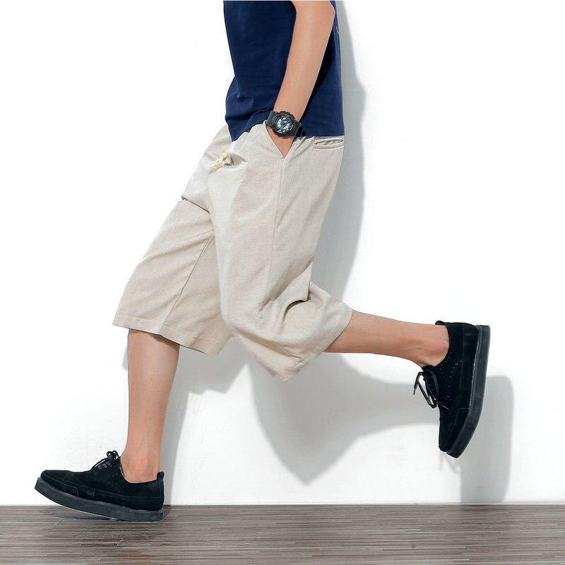 veau-longueur pantalon pour hommes pantalon large et ample - Vêtements pour hommes - Photo 3