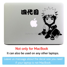 Namikaze Minato Hokage Cartoon Laptop Sticker