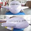 HB09 Crazy Price PVC 4 m Largo inflable del aeroplano/dirigible/dirigible no rígido/zepelín con la cola y Libre de DHL envío libre y 100% de Votos positivos