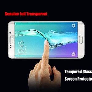 Image 5 - Película de vidro temperado para samsung galaxy, película protetora 3d curva de vidro para samsung galaxy s7 edge cobertura completa e seguro s7edge