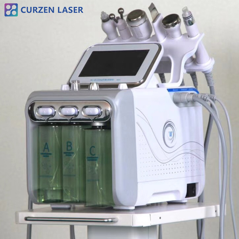 Hot Sale Micro Dermabrasion And Aqua Peel Hydro Facial Machine With Diamond Tips