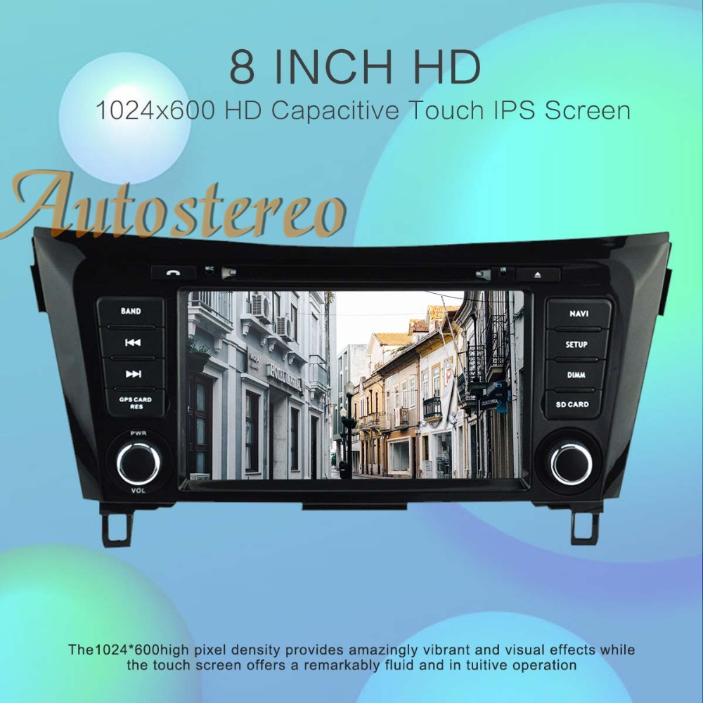 Autostereo Android 9.0 Car DVD Player GPS navigation For Nissan X TRAIL Qashqai Dualis Rouge 2013+ head unit radio tape recorder-in Car Multimedia Player from Automobiles & Motorcycles    3
