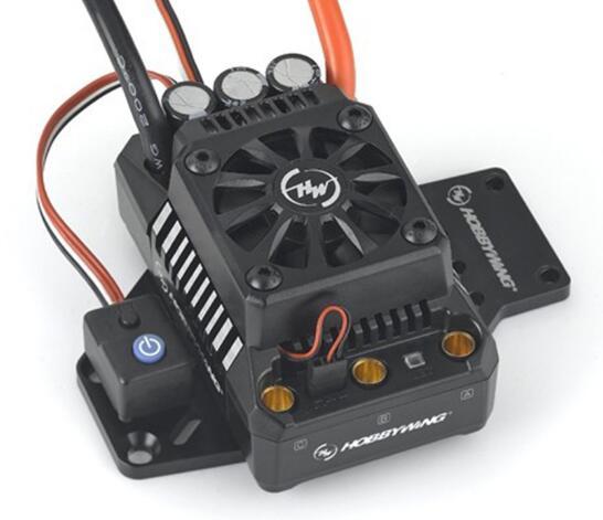 Hobbywing EzRun Max6 V3/Max5 V3/MAX10 SCT 160A/200A/120A régulateur de vitesse étanche sans brosse ESC pour voiture 1/6 1/5 RC - 3