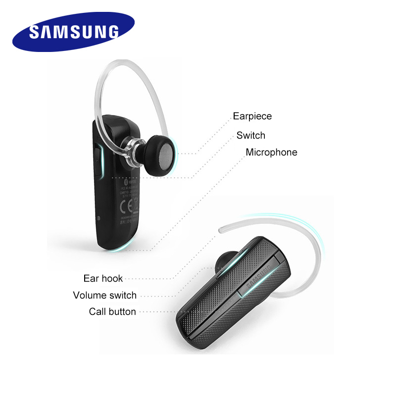 Samsung Hm1200 Bluetooth Earphones With Mic Black In Ear Wireless Business Headset Bluetooth 3 0 Genuine Bluetooth Earphone With Mic Bluetooth Earphonebusiness Bluetooth Earphones Aliexpress
