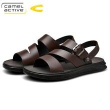 Camel Active/ г. Новые быстросохнущие сандалии из натуральной кожи летние качественные повседневные кроссовки противоскользящая обувь для пляжного отдыха 19330