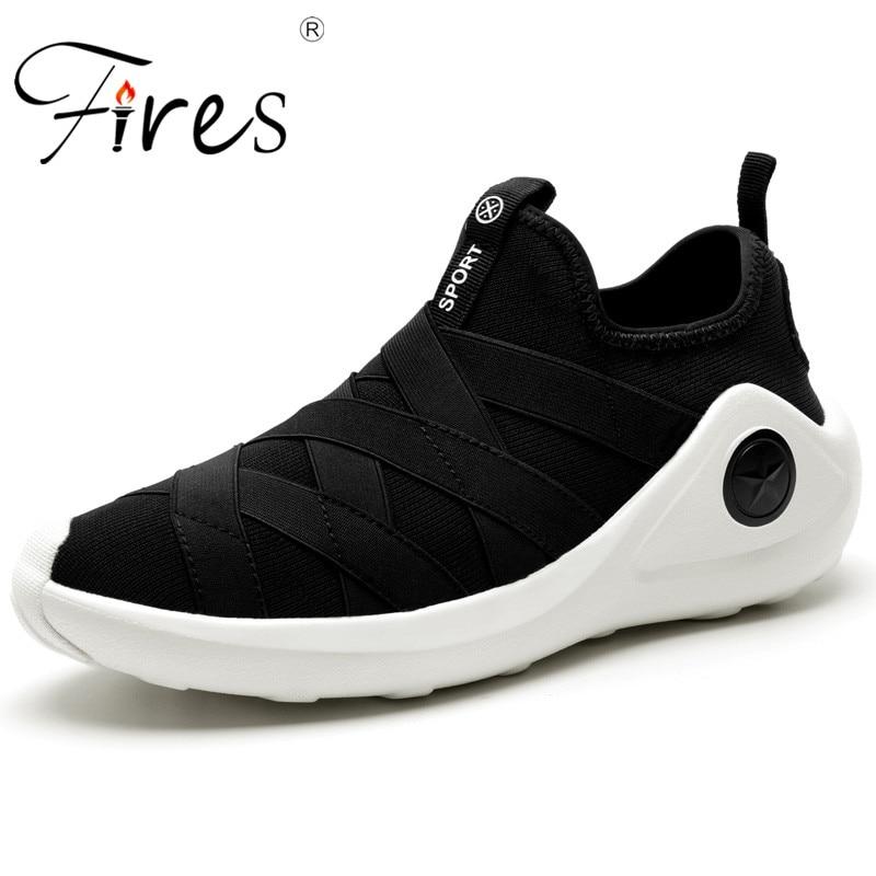 Срабатывает мужской Кроссовки летние дышащие Спортивная Обувь открытого Обувь для прогулок Для мужчин Удобная одежда устойчивостью Обувь ...