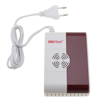 WOLF Guard High Sensitive 433mhz CO Gas LPG Sensor Carbon Monoxide Alarm Detector Home Security