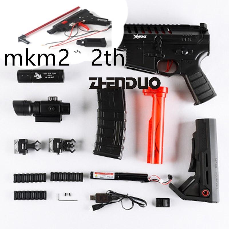 Zhenduo Toy MKM2 Jinming 3 Generation Gun body Toy gun Gel Ball Gun Accessories Free Shipping