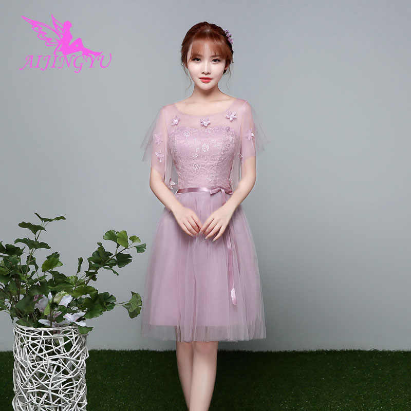 AIJINGYU 2018 girl sexy women s gown prom dress plus size bridesmaid dress  BN297 5de6dba0b8eb