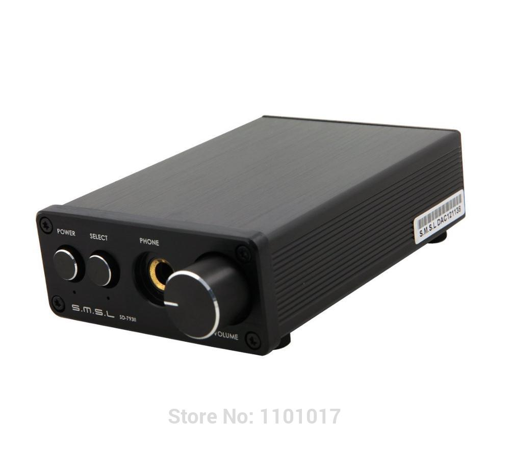 SMSL SD-793II Coaxial SPDIF PCM1793 DAC HIFI EXQUIS 24bit/96Khz Digital Decoder  Headphone amplifier output smsl a8 hifi audio digital power amplifier dac headphone amp decoder xmos solution icepower 125wx2 module ak4490 supports pcm