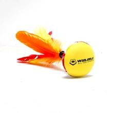 Free shipping high quality Winmax New Neoprene Beach Entertainment Hand Indiaca Featherball Shuttlecock for Fun Indiaca Peteca
