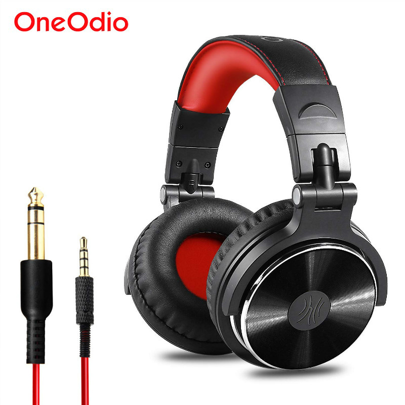Oneodio DJ Gaming Headset Com Microfone Do Telefone PC Wired Over-ear Hifi Monitor de Estúdio DJ Fone De Ouvido Estéreo Profissional Urbanfun