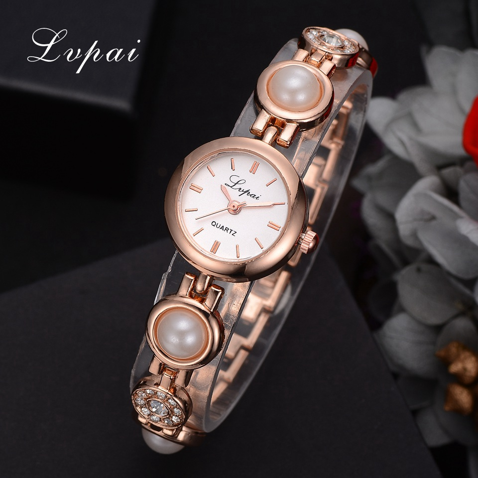 Watches Women Fashion Luxury Watch 2018 Lvpai Brand Pearl