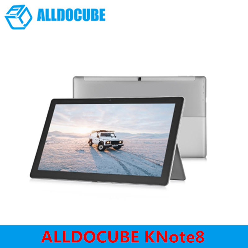 ALLDOCUBE KNote8 2 In 1 Tablet PC 13.3 Inch 2K Screen Windows 10 Intel Kabylake 7Y30 Dual Core 8GB RAM 256GB ROM Type C