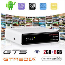 GTmedia GTS Android 6.0 smart tv Box Amlogic S905D 2GB + 8GB dekoder 4K HD H.265 2.4G Wifi odtwarzacz multimedialny tv, pudełko IPTV M3U(China)