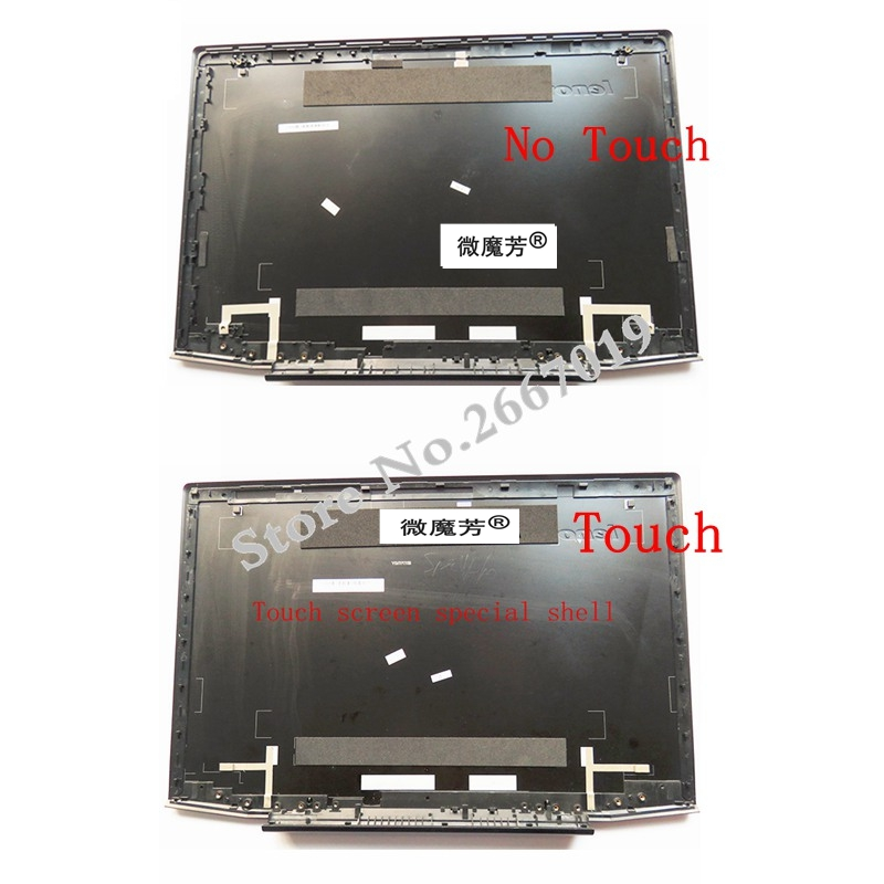 Touch Screen LCD back Case cover Assembly For lenovo Y50 Y50P Y50-70 Y50-80 Y50P-70 Y50P-80 LCD Top cover new original lenovo y50 y50 70 15 6 lcd top back cover rear lid bezel no touch am14r000400