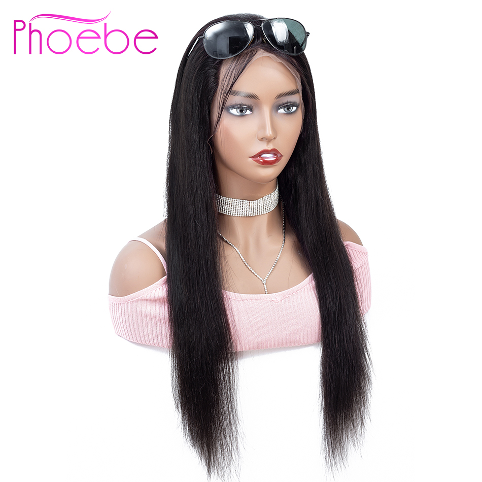 Phoebe 13x4 Lace Front Human Hair Wigs Straight With Baby Hair 10 26 Inches 150 Malaysia