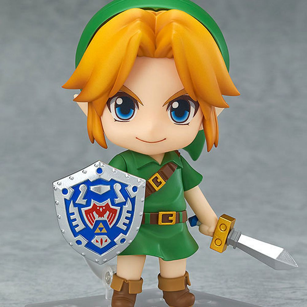 Nendoroid The Legend of Zelda Link Majora's Mask 3D Figure With Original Box  nendoroid the legend of zelda link majora s mask 3d figure with original box