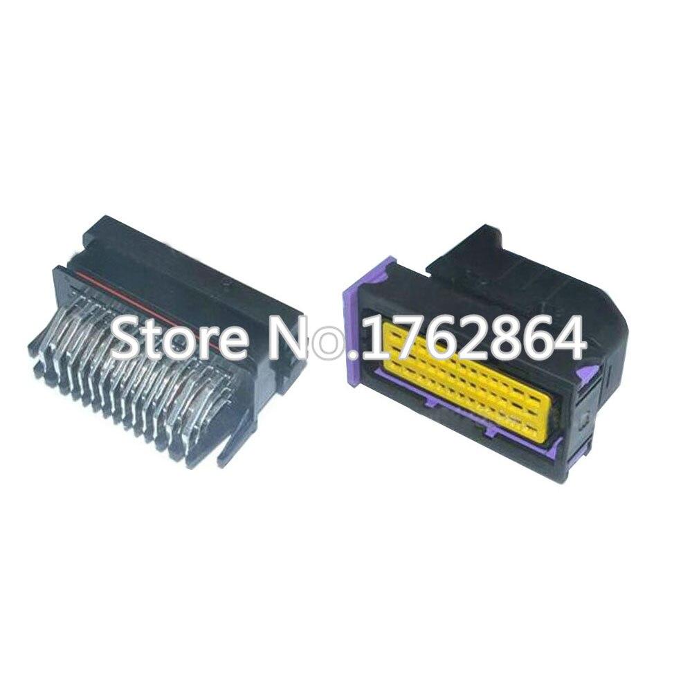 39 pinos plugue de tomada de Carro de alta qualidade caixa de controle conector com terminais DJ7391-1.5-11/21 39 P