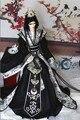 Bjd костюм куклы одежда черно-белый-1/3 дядя soom