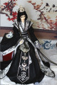 Bjd costume doll clothes black and white - 1/3 uncle soom