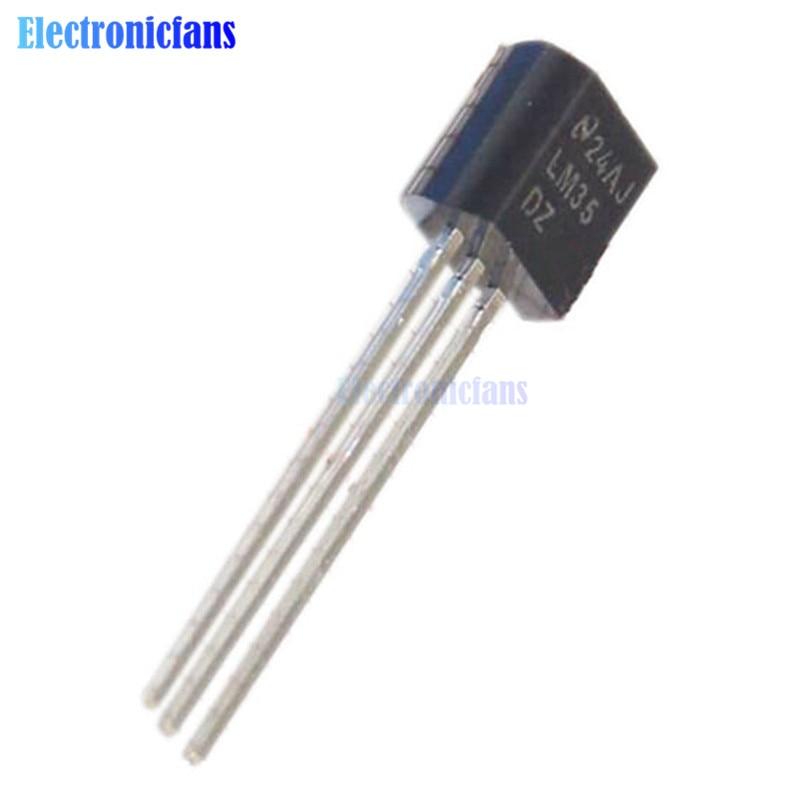 5PCS TO-92 LM35DZ LM35 NSC Capteur de température IC