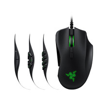 Razer Naga Gaming Mouse Wired Mice 16000 DPI Optical Sensor Chroma RGB Lighting 2/7/12 Button Mechanical Switches Gaming Mouse(China)