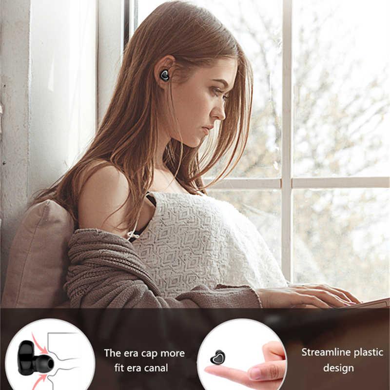 ADDKEY מיני Bluetooth אוזניות עם מיקרופון אלחוטי אוזניות מוסיקה Earbud Bluetooth V4.1 רעש ביטול עבור Iphone, Xiaomi, סמסונג