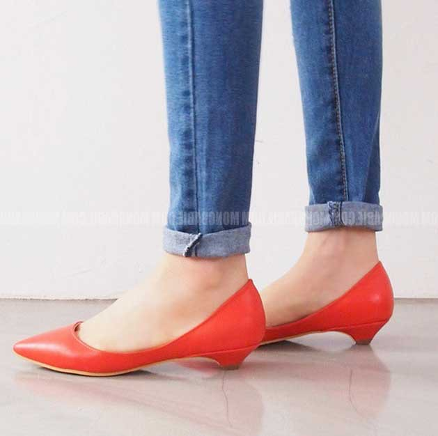 a13c1e9ac6 Ladies Flats Bridal Leather Ballerina Flats Red Royal Blue Black Pointy  Flats Pointed Women Shoes Flats
