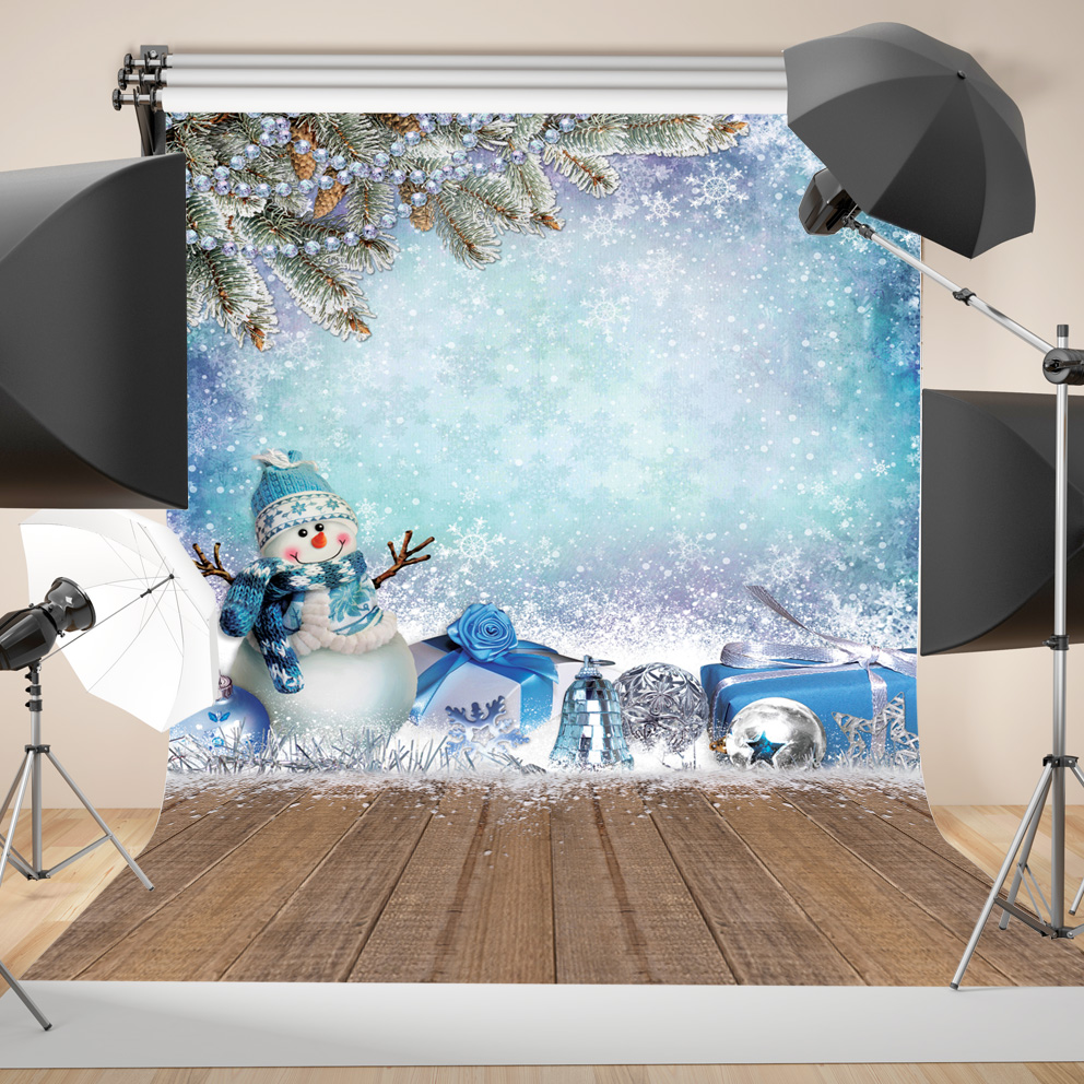 SJOLOON Christmas photography background children photography backdrop winter photo background fond photo studio vinyl props