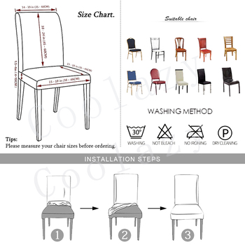 Black &Amp; White Stretchable Chair Cover For Dining Chairs 2 Chair And Sofa Covers
